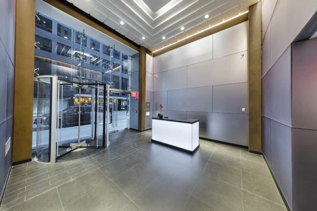 Lobby design of 1156 Avenue