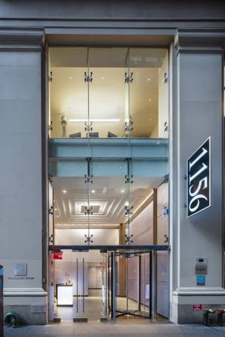 New elevators, 1156 Avenue