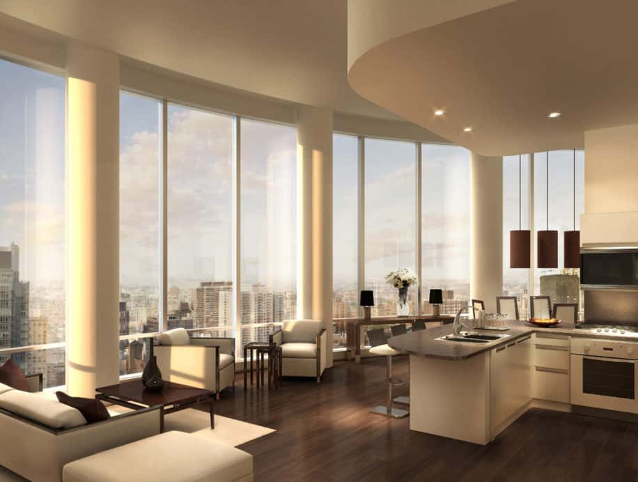 250 East 49th Street residential unit design