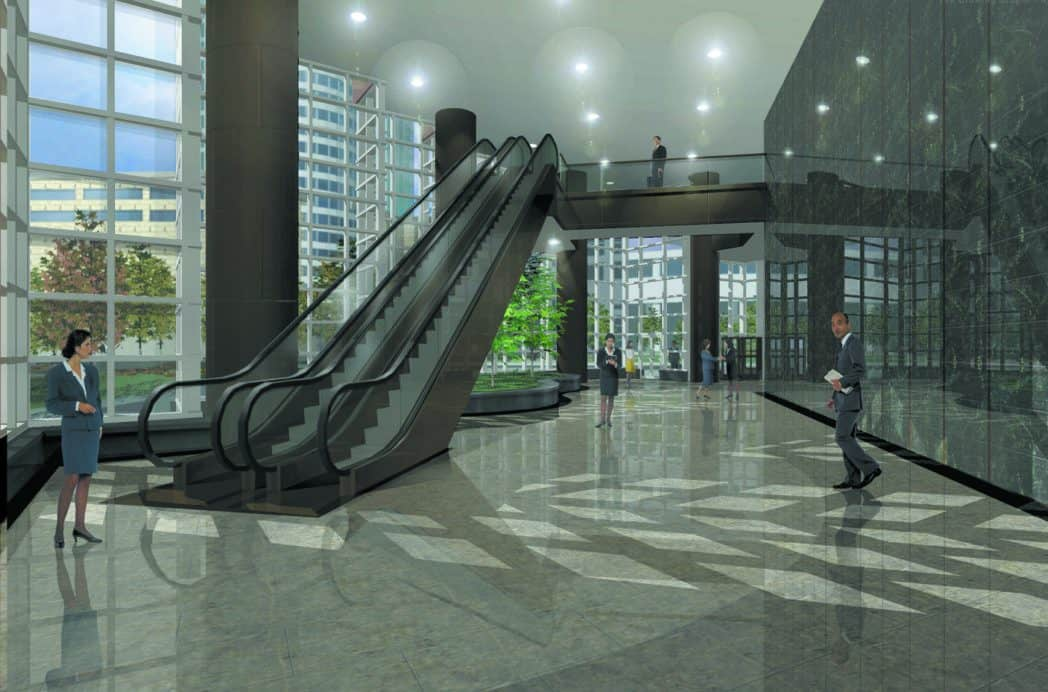 Lujizaui-Itochu Development Building lobby