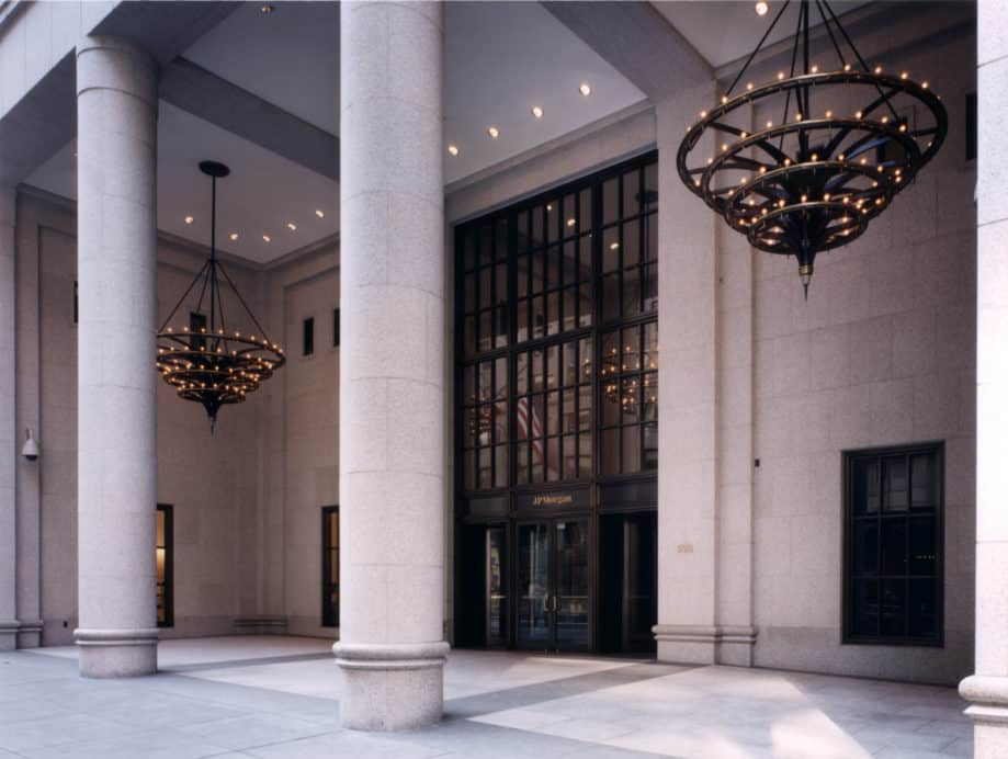 JP Morgan 522 5th Avenue lobby redesign