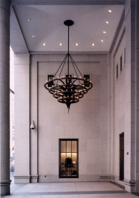 JP Morgan lobby redesign