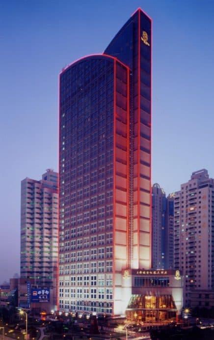 Shanghai St Regis hotel