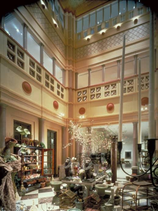 Takashimaya lobby design