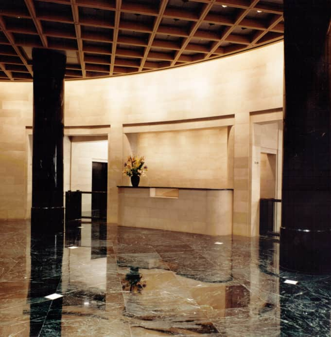JP Morgan interior
