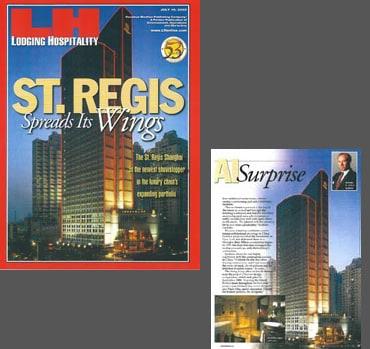 Shanghai St. Regis hotel design