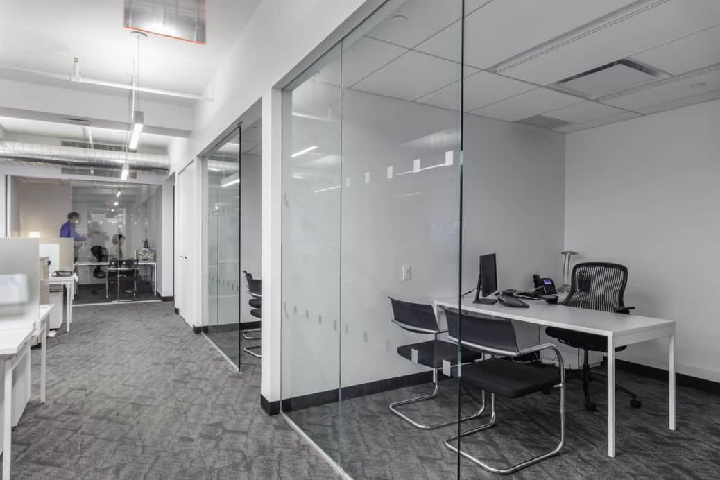 Sotheby's workspace design