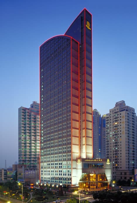 Shanghai St Regis Hotel by Sydness Architects