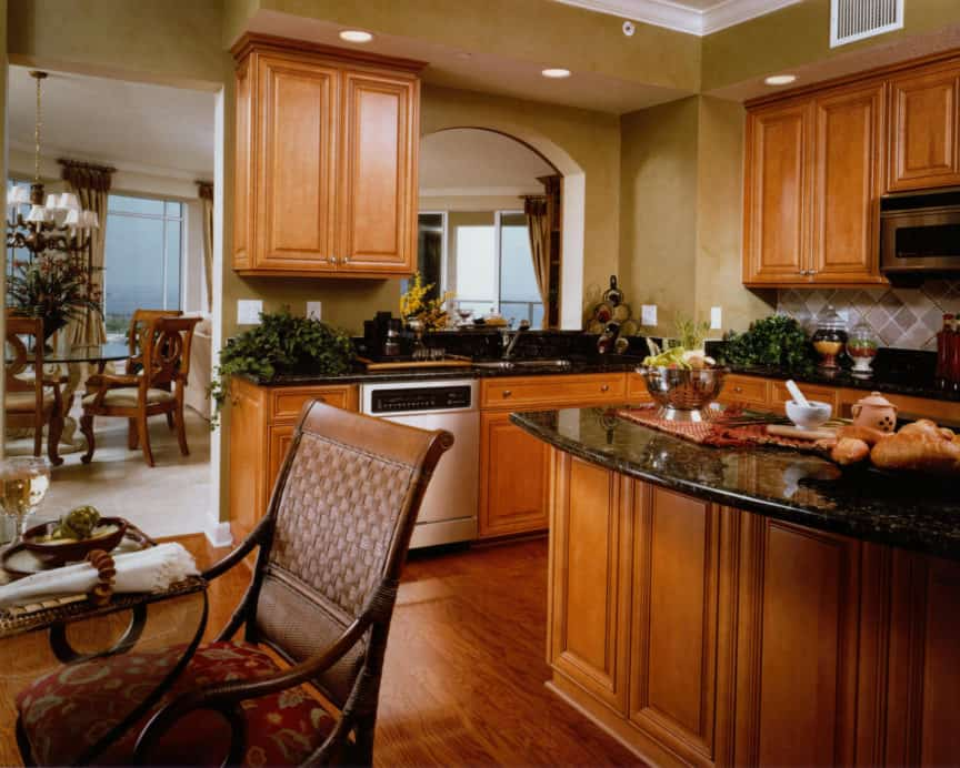 Luxury Condominium kitchen